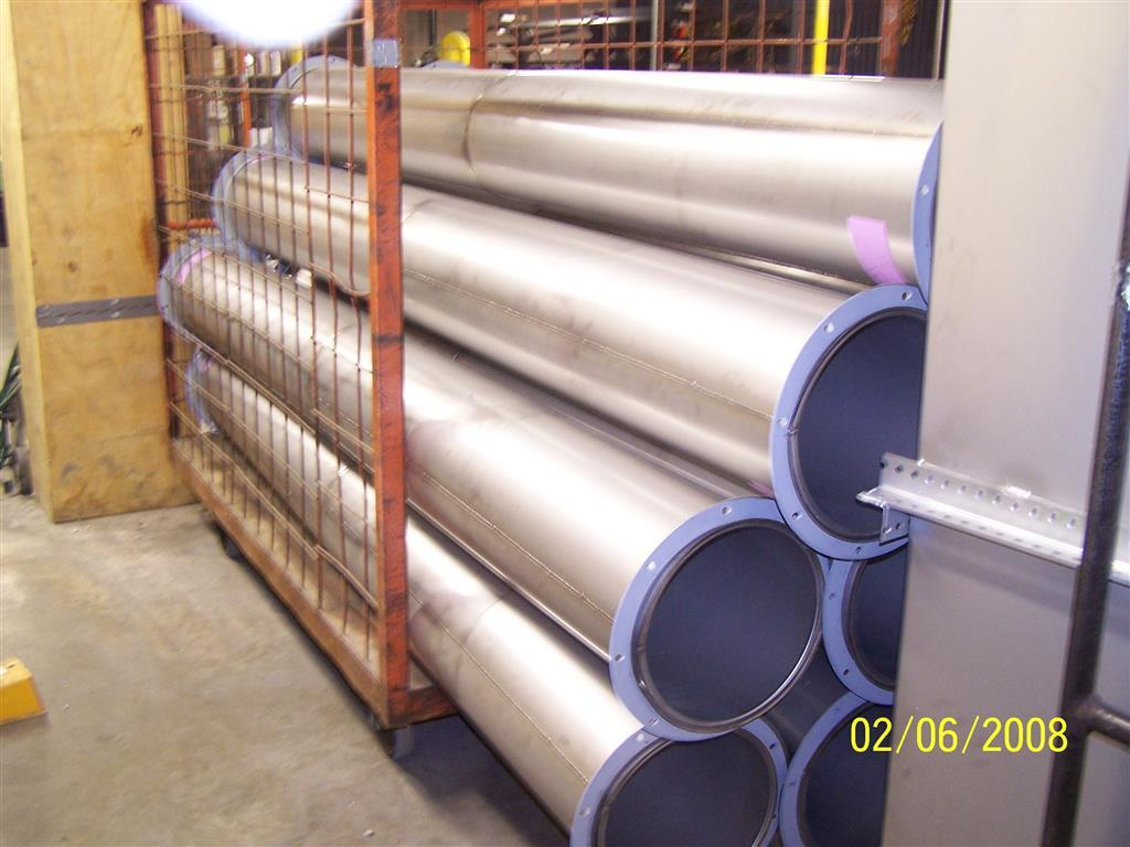 Welded Stainless Steel Ductwork