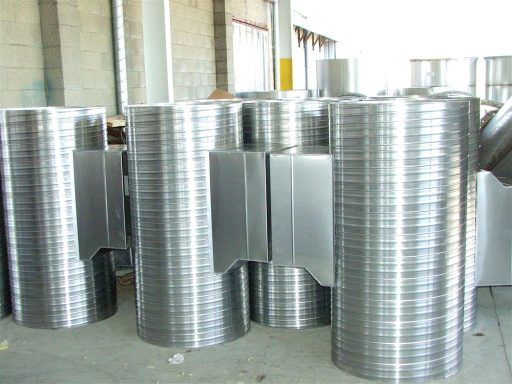 Corrugated Spiral Ductwork