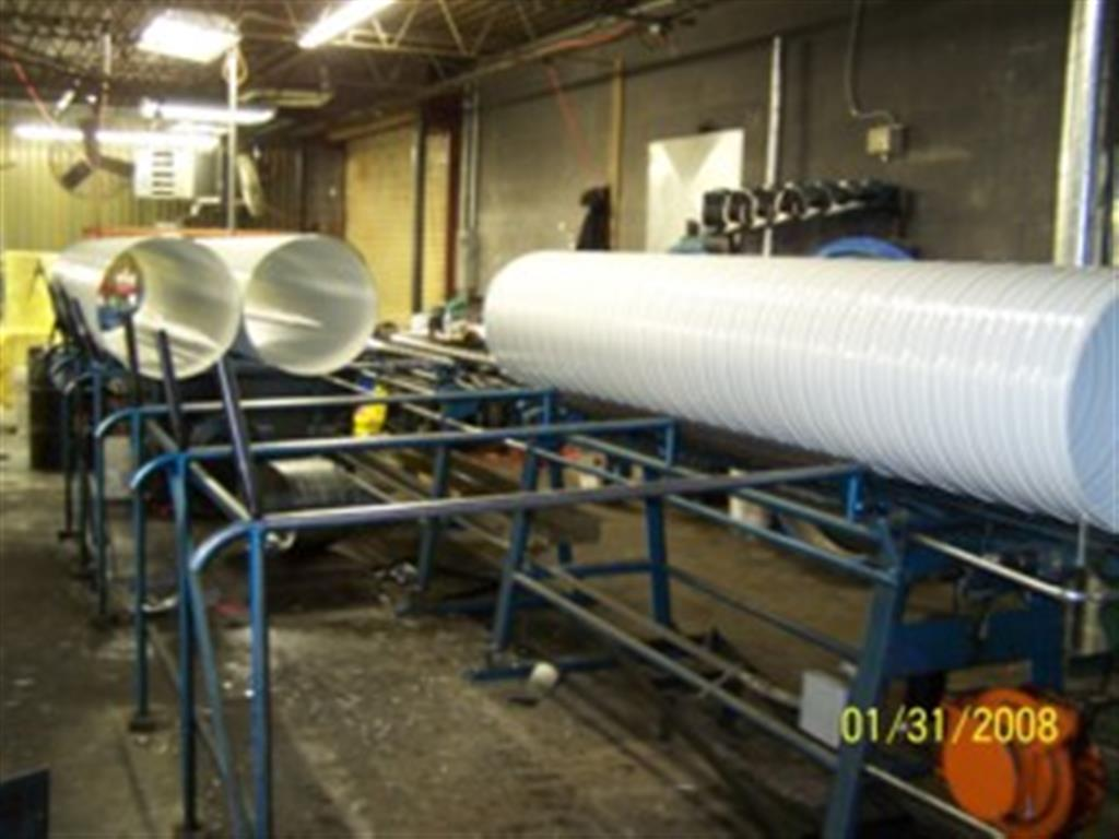 PVS Spiral Ductwork