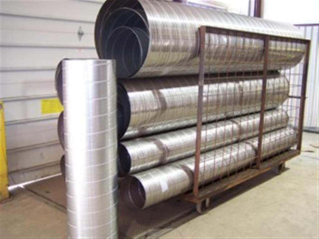 Spiral Stainless Steel Ductwork
