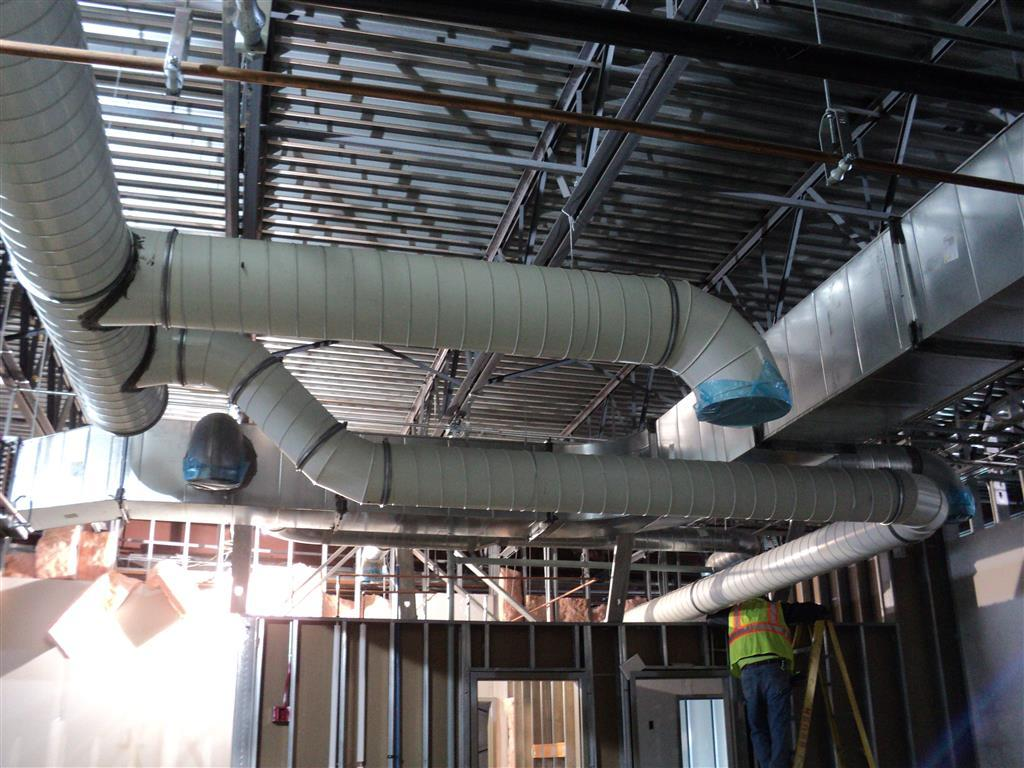 PCD Clamp Together Ductwork